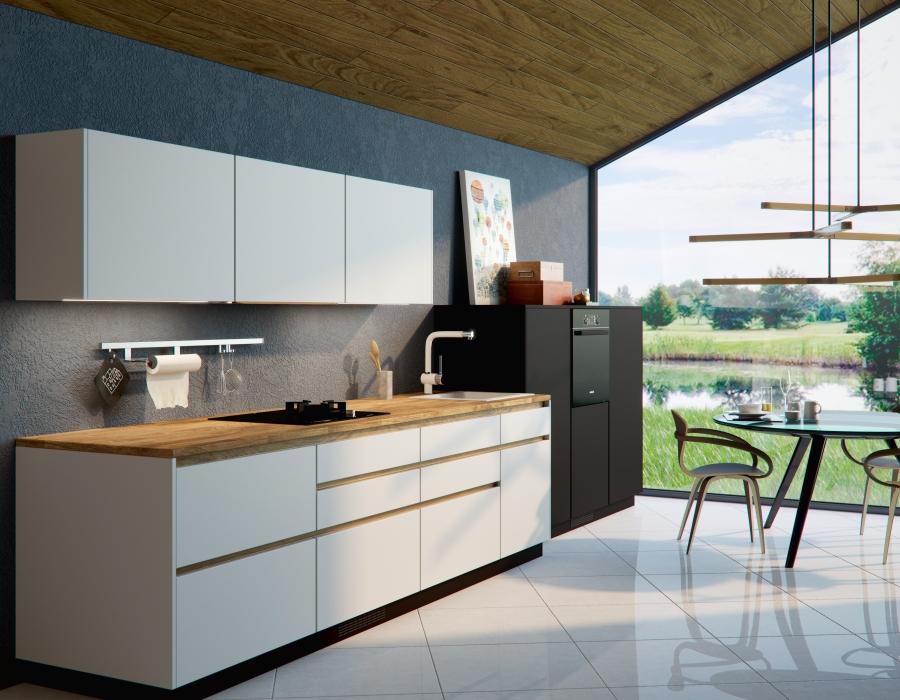 Moderne Küchen Mit Akzenten In Holz
