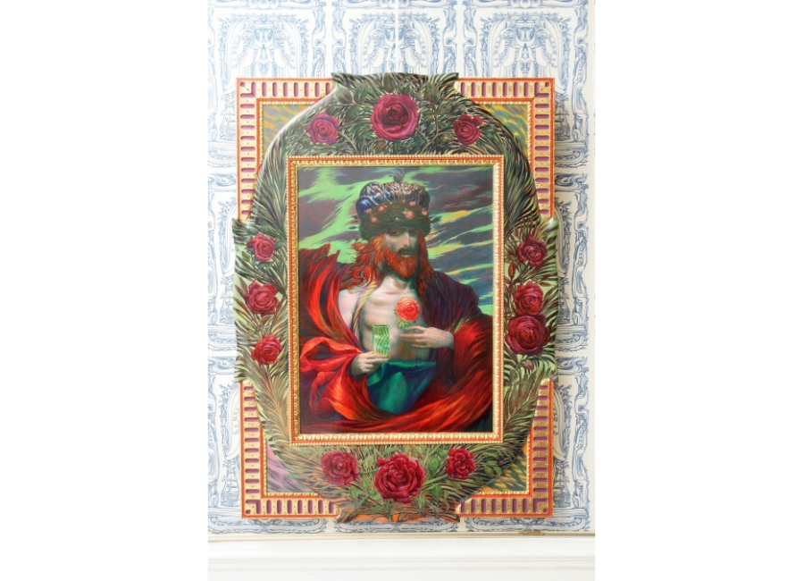 Bilderrahmenleisten für Maler Ernst Fuchs * kolar.at